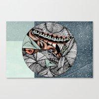 Mending world Canvas Print