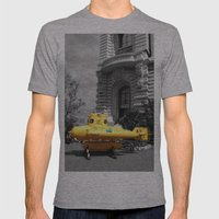 Yellow Submarine  Mens Fitted Tee Athletic Grey SMALL