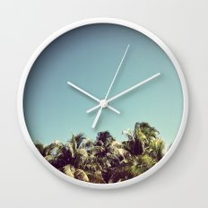 Also Palms Wall Clock