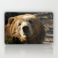 A big sad Teddy Bear Laptop & iPad Skin
