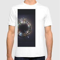 seattle Mens Fitted Tee SMALL White