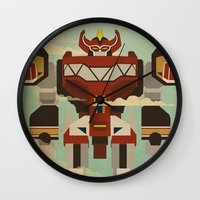 The Mega of the Zords Wall Clock