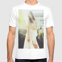 A Golden Summer's End Mens Fitted Tee White SMALL
