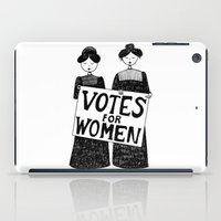 votes for women iPad Case