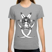 In Post-meditation, Be A… Womens Fitted Tee Tri-Grey SMALL