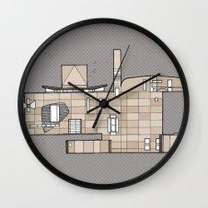 Fachada Wall Clock