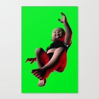 Canvas Print featuring baby doll  by Misha Dontsov