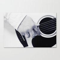 Songwriter Canvas Print