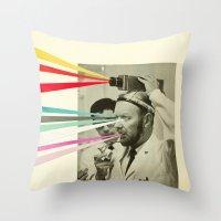 Communicator Throw Pillow