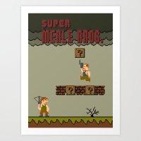 Super Merle Bros. Art Print
