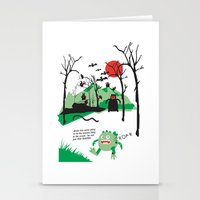 Arnie Was Just Too Round… Stationery Cards