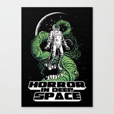Horror In Deep Space Canvas Print