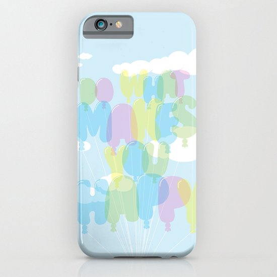 Do What Makes You Happy iPhone & iPod Case