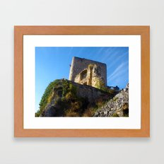 Nature takes back Framed Art Print