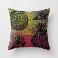 PineApple Fiesta Throw Pillow