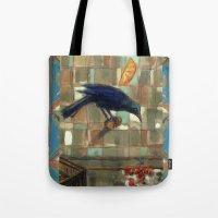 Blackbird. Tote Bag