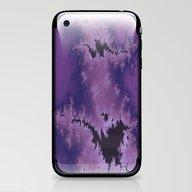 Purple Explosion iPhone & iPod Skin