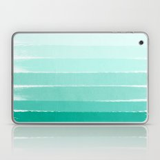 Ombre - Brushstroke Gree… Laptop & iPad Skin