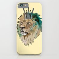 iPhone & iPod Case featuring The King by Matt Fontaine