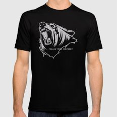 The Bear Mens Fitted Tee Black SMALL
