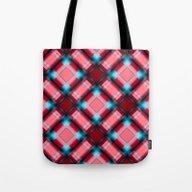 Square Pattern Serie 1 R… Tote Bag