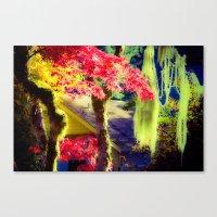 Fall Colors at Crescent Lake Lodge Canvas Print