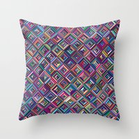 Optica Throw Pillow