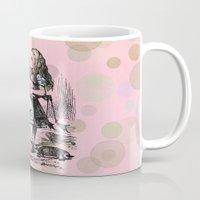 Alice plays Croquet Mug