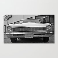 Chevy II Closeup Canvas Print