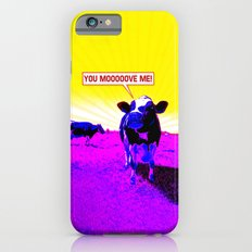 Psychedelic Cows iPhone 6s Slim Case