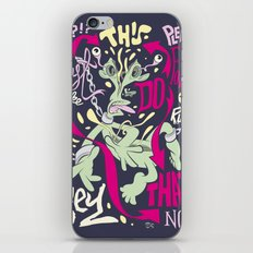 SPLIT iPhone & iPod Skin