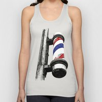 Haircuts here Unisex Tank Top