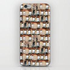 windows of NYC iPhone & iPod Skin