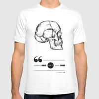 Dead Or Alive Mens Fitted Tee White SMALL