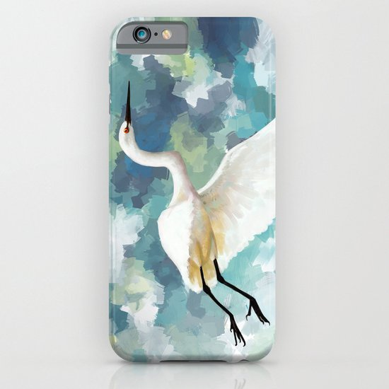 Florida Egret iPhone & iPod Case
