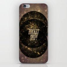 Rocket Ship! iPhone & iPod Skin