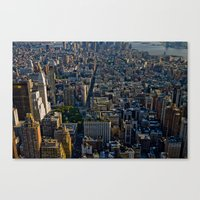 Top Of The Empire #4 Canvas Print