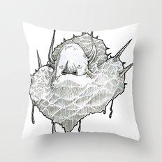 monsterT Throw Pillow