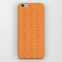 Orange Hex iPhone & iPod Skin