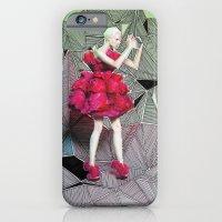 Alexander McQueen Doodle Bomb by Downtown Doodler iPhone 6 Slim Case