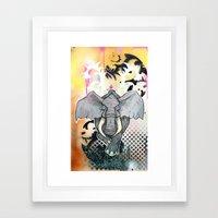 Stampede Part 1 Framed Art Print