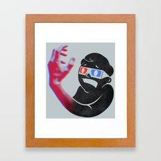 Now in Eye-Popping 3D! Framed Art Print