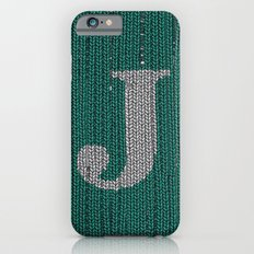 Winter clothes. Letter J III iPhone 6 Slim Case