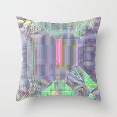 Pink Slip Throw Pillow