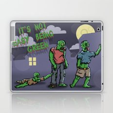 It's Not Easy Being Green Laptop & iPad Skin