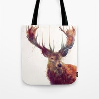 Red Deer // Stag Tote Bag
