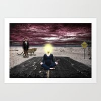 Conceptions, Deceptions and Pointless Perceptions Art Print