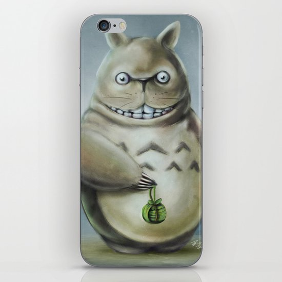 Miyazaki's Totoro - Totoros communis domestica iPhone & iPod Skin