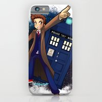 iPhone & iPod Case featuring Doctor Who by Lucy Fidelis