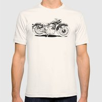 1937 Out Mens Fitted Tee Natural SMALL